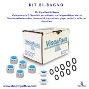 Kit risparmio acqua ed energia - Vigorfluss - GPP, Gadget, Ho.Re.Ca., Riduzione dei Consumi, Risparmio Idrico, Per te